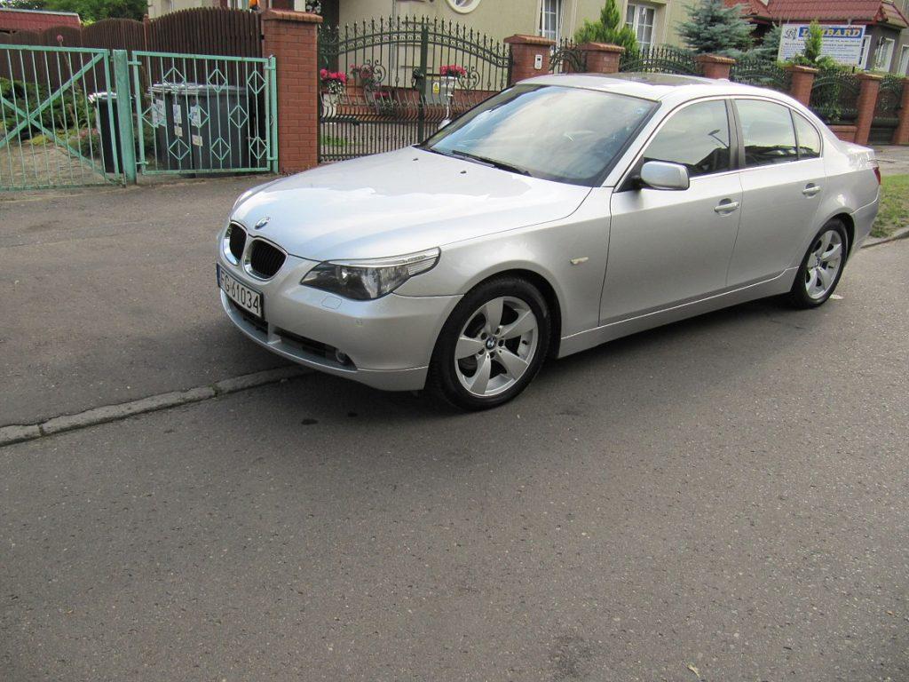 BMW E60 530d, rok. 2004, model 2005
